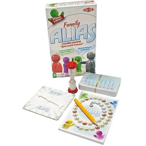 Купить Tactic Games 53374 Настольная игра Скажи Иначе (для всей семьи, компактная версия 2), Настольные игры Tactic Games