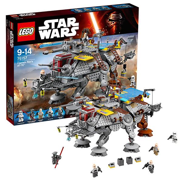 Lego Star Wars 75157 Конструктор Лего Звездные Войны Шагающий штурмовой вездеход AT-TE Рекса, арт:142370 - Звездные войны, Конструкторы LEGO