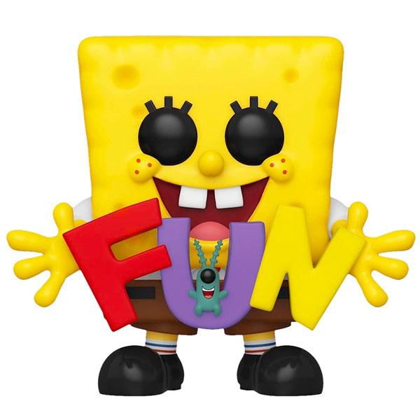 Купить Funko 43976F Фигурка Funko POP! Vinyl: Spongebob: Spongebob: w/FUN (Exc), Игровые наборы и фигурки для детей Funko