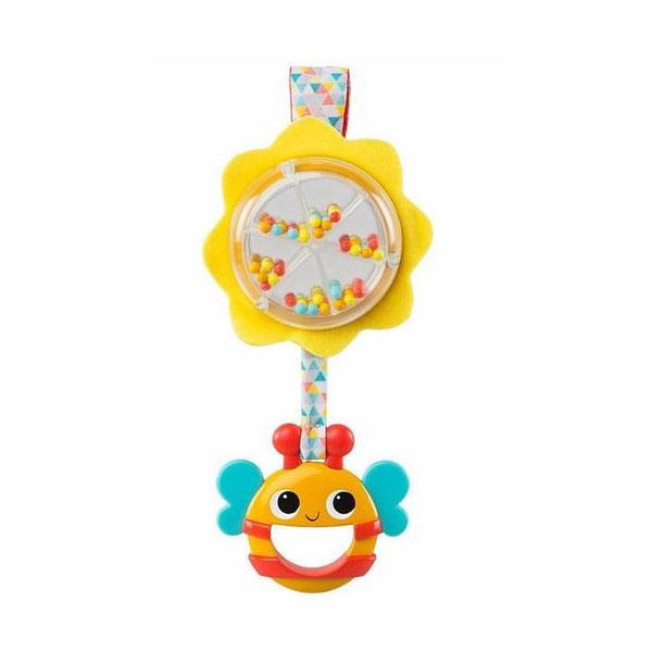 Купить BRIGHT STARTS 11119BS Развивающая игрушка-погремушка Пчёлка , Развивающие игрушки для малышей BRIGHT STARTS
