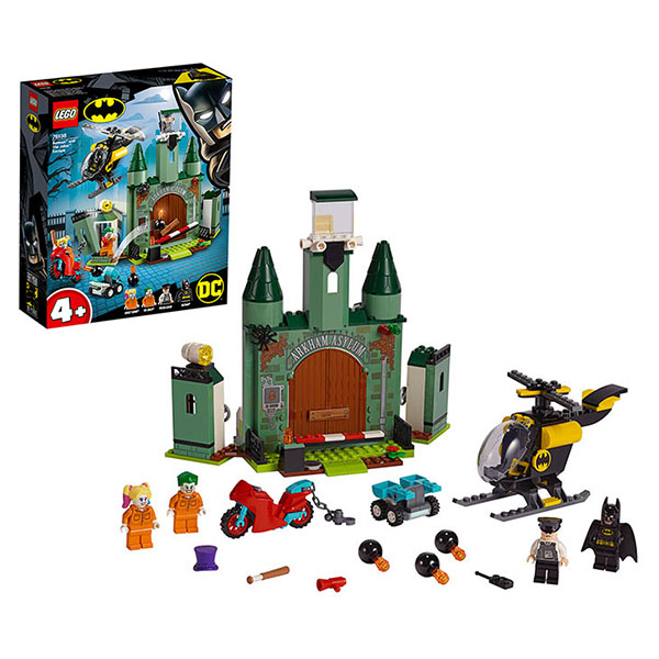 Купить LEGO Super Heroes 76138 Конструктор ЛЕГО Супер Герои Бэтмен и побег Джокера, Конструктор LEGO