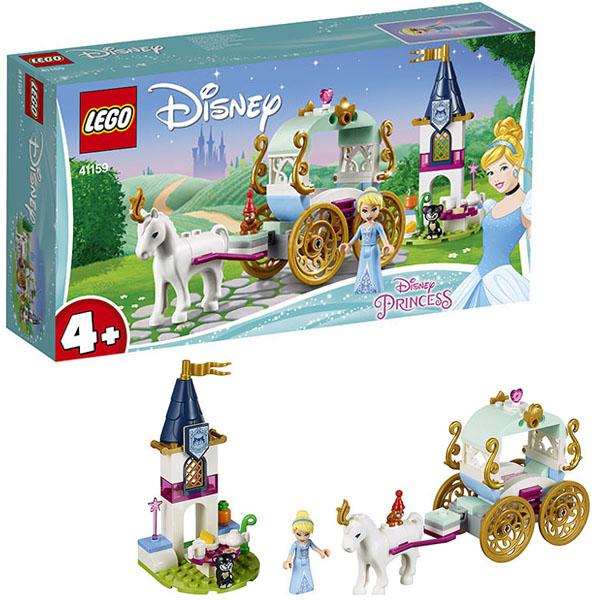 Купить LEGO Disney Princess 41159 Конструктор ЛЕГО Принцессы Дисней Карета Золушки, Конструктор LEGO