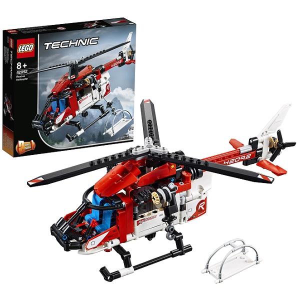 Купить Lego Technic 42092 Конструктор Лего Техник Спасательный вертолёт, Конструкторы LEGO