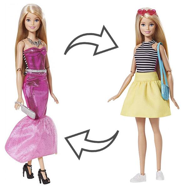 Купить Mattel Barbie DMB30 Барби Кукла в платье-трансформере, Кукла Mattel Barbie