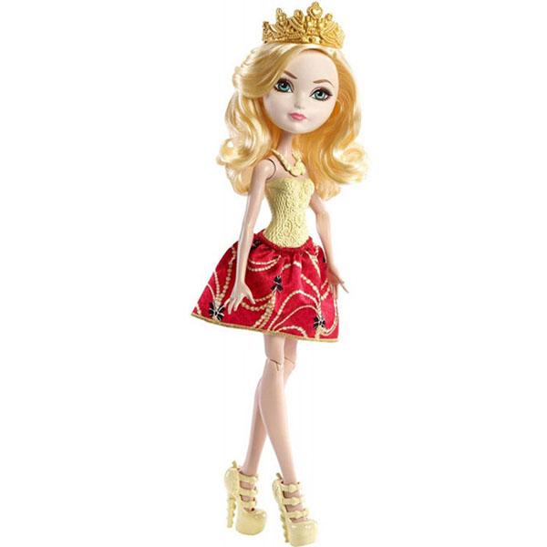 Купить Mattel Ever After High DLB36 Эпл Вайт, Кукла Mattel Ever After High