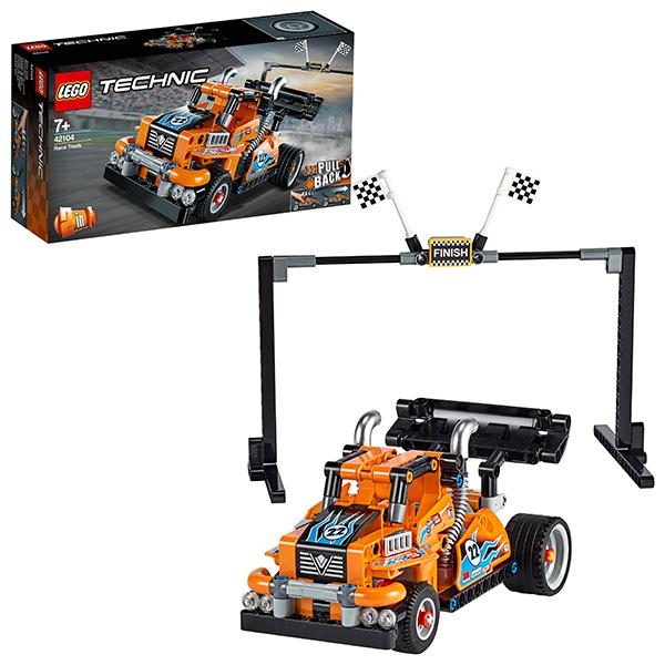 Конструкторы LEGO — LEGO Technic 42104 Конструктор ЛЕГО Техник Гоночный грузовик