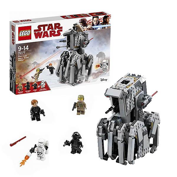 Lego Star Wars 75177 Конструктор Лего Звездные Войны Тяжелый разведывательный шагоход Первого Ордена, арт:150659 - Звездные войны, Конструкторы LEGO