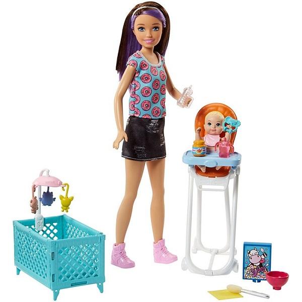 Купить Mattel Barbie FHY98 Барби Набор Няня , Куклы и пупсы Mattel Barbie
