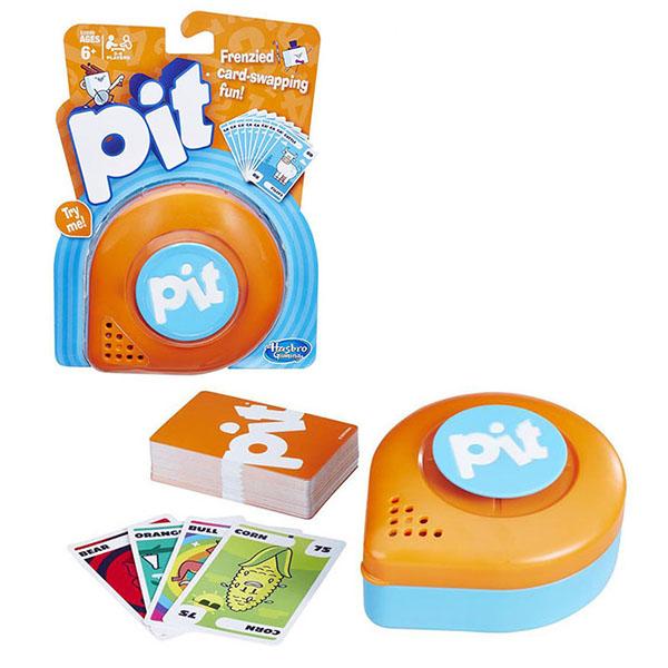 Купить Hasbro Other Games E0890 Настольная карточная игра ПИТ, Настольные игры Hasbro Other Games