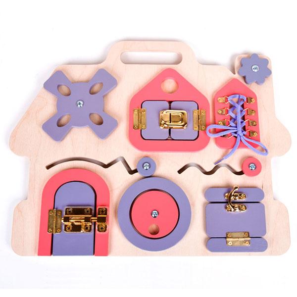 Купить Десятое Королевство TD02103 Бизиборд Домик , Развивающие игрушки для малышей Десятое Королевство