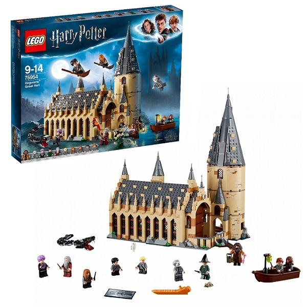 Lego Harry Potter 75954 Конструктор Лего Гарри Поттер Большой зал Хогвартса - Конструкторы LEGO