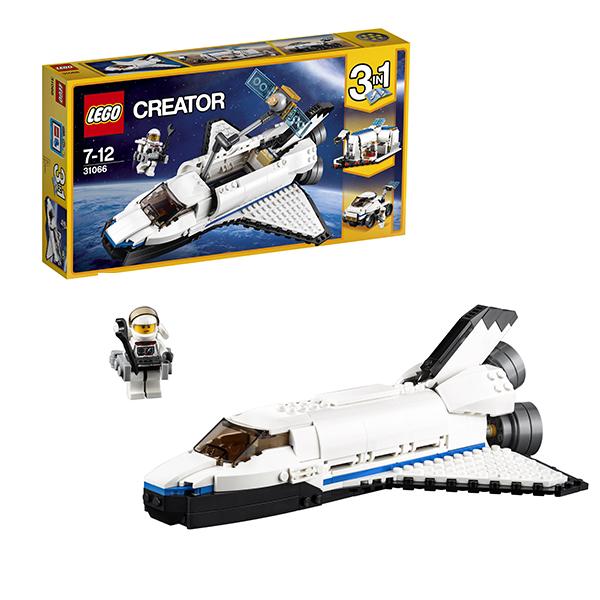 Lego Creator 31066 Конструктор Лего Криэйтор Исследовательский космический шаттл, арт:149800 - Криэйтор, Конструкторы LEGO