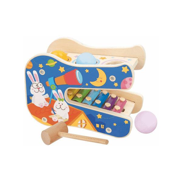 Купить Lucy&Leo LL250 Игровой набор Звёздные мелодии , Деревянные игрушки Lucy&Leo