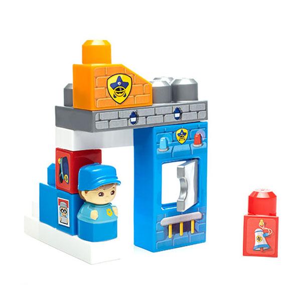 Mattel Mega Bloks DYC56 Мега Блокс Игровой набор Полицейский участок - Игрушки для малышей