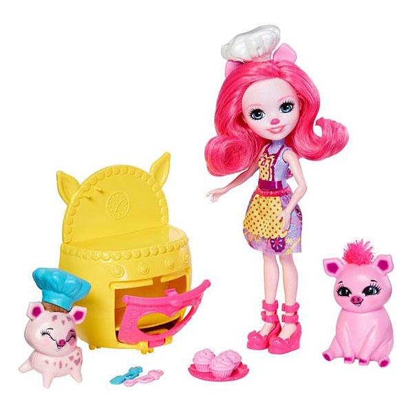 Купить Mattel Enchantimals FJJ28 Игровой набор Веселая пекарня , Куклы и пупсы Mattel Enchantimals