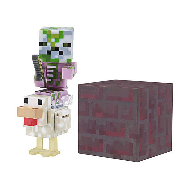 Купить Minecraft 19978 Майнкрафт фигурка Pigman Jockey, Минифигурка Minecraft