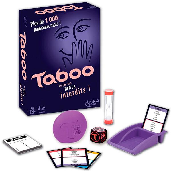Hasbro Other Games A4626 Настольная игра Табу, Настольная игра Hasbro Other Games  - купить со скидкой