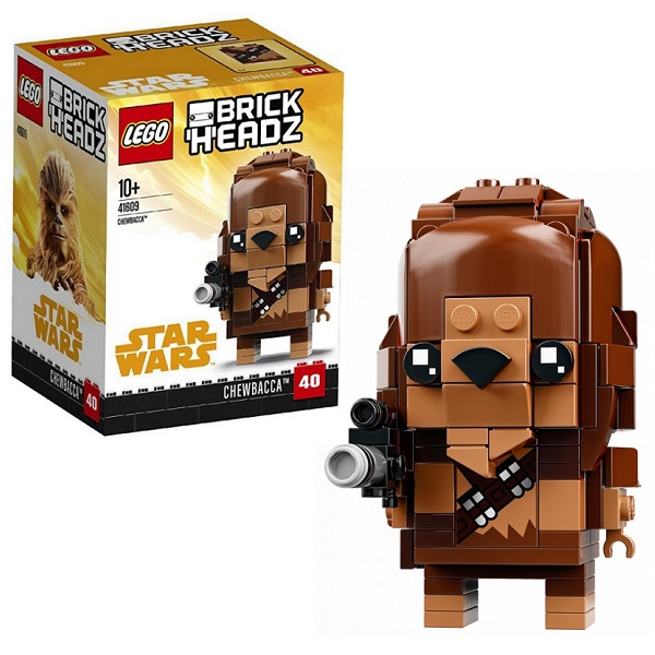 Lego BrickHeadz 41609 Конструктор Лего БрикХедз Чубакка, арт:153855 - BrickHeadz, Конструкторы LEGO