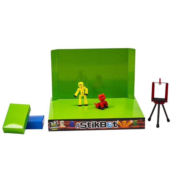 Stikbot TST617A Стикбот Анимационная студия со сценой и питомцем (в ассортименте)
