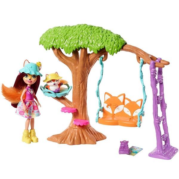 Игровые наборы и фигурки для детей Mattel Enchantimals FRH45 Сюжетные игровые наборы фото