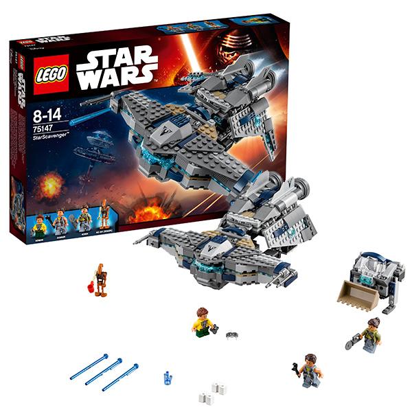 Lego Star Wars 75147 Конструктор Лего Звездные Войны Звёздный Мусорщик, арт:142357 - Звездные войны, Конструкторы LEGO