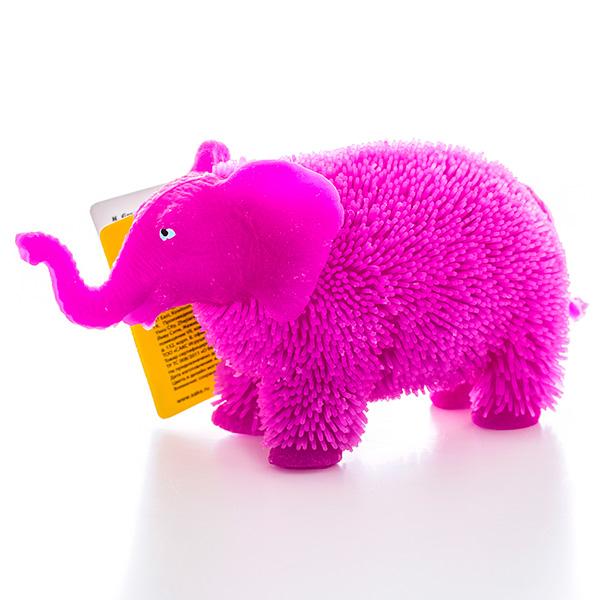 Купить HGL SV11190 Фигурка слон с резиновым ворсом с подсветкой (в ассортименте), Фигурка Megasaurs (HGL)