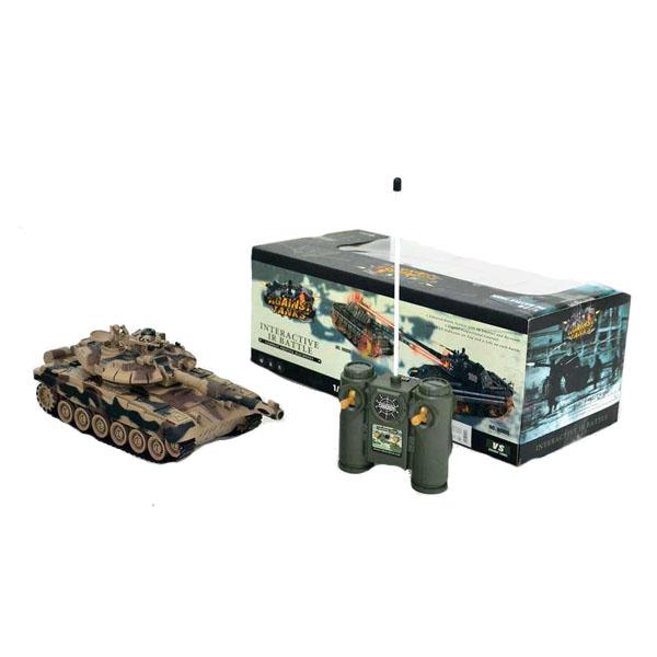 Радиоуправляемая игрушка HK Industries HK Industries 99802 Танк р/у Т90 33 см, хаки (з/у +акк) по цене 2 999