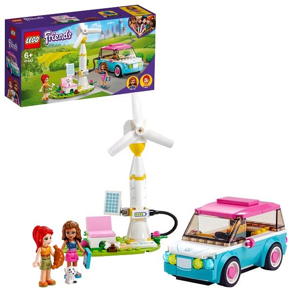 LEGO Friends 41443 Конструктор ЛЕГО Подружки Электромобиль Оливии по цене 1 199