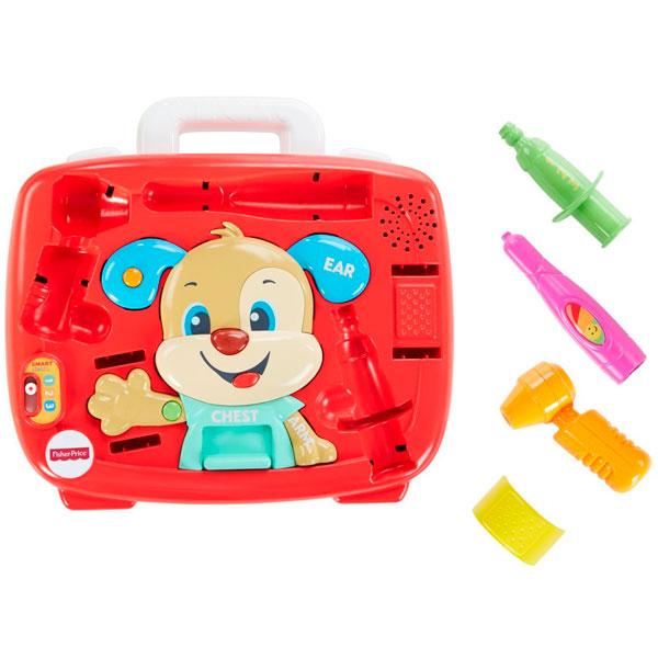 Купить Mattel Fisher-Price FTC79 Фишер Прайс Медицинский набор Ученого Щенка, Развивающие игрушки для малышей Mattel Fisher-Price