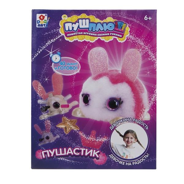 Купить 1toy T18998 ПУШ-ПЛЮШ Набор для творчества Пушастик
