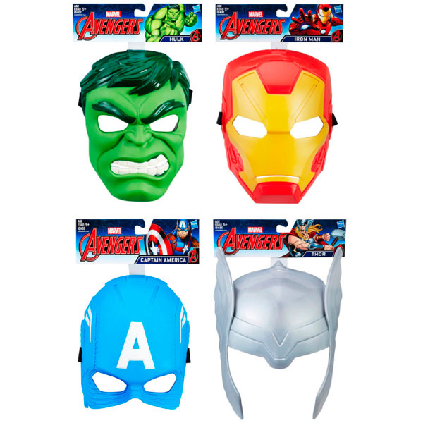 Hasbro Avengers B9945 Маска Мстителя (в ассортименте)