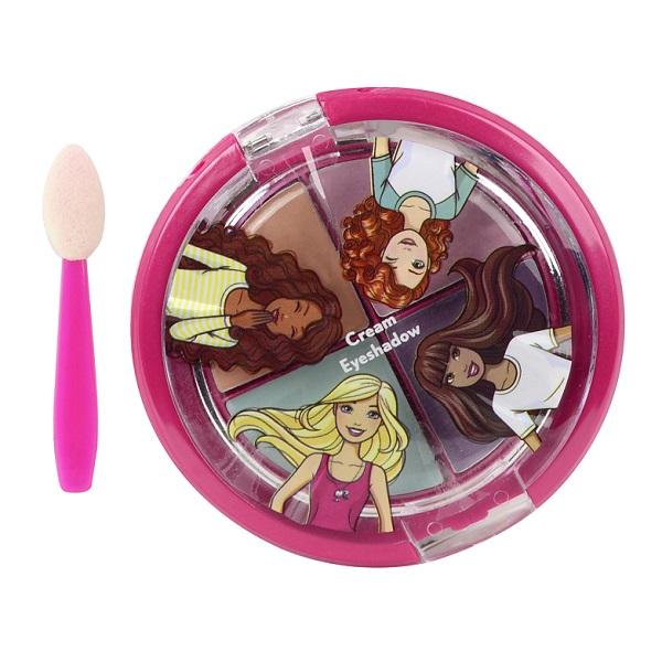 Markwins 9707151 Barbie Игровой набор детской декоративной косметики для глаз