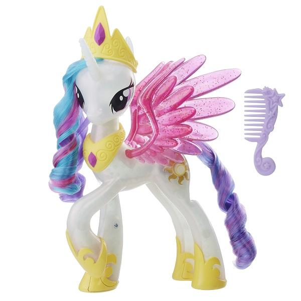 Купить Hasbro My Little Pony E0190 ПОНИ Принцесса Селестия, Игровые наборы и фигурки для детей Hasbro My Little Pony