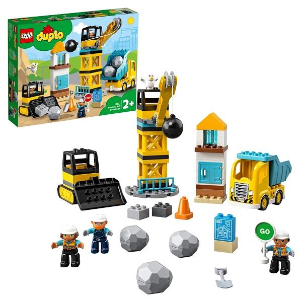 Купить LEGO DUPLO Town 10932 Конструктор ЛЕГО ДУПЛО Шаровой таран, Конструкторы LEGO