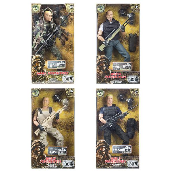 """Игровые наборы и фигурки для детей World Peacekeepers MC90360 Игровой набор """"Снайпер"""" 1:6 (в ассортименте) фото"""