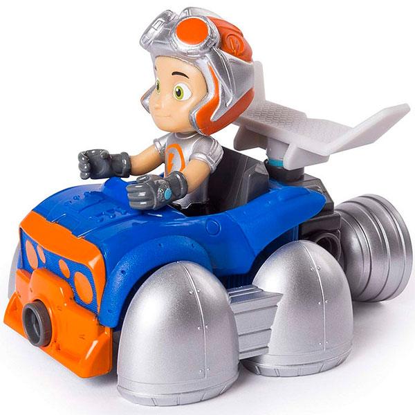 Купить Rusty Rivets 28120-FLY Строительный набор малый с фигуркой героя FLYING RUSTY KART, Игровые наборы и фигурки для детей Rusty Rivets