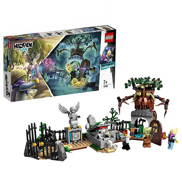 Купить LEGO Hidden Side 70420 Конструктор ЛЕГО Загадка старого кладбища, Конструкторы LEGO