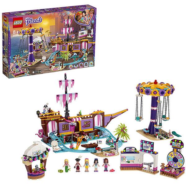 Конструкторы LEGO Friends 41375 Конструктор ЛЕГО Подружки Прибрежный парк развлечений фото
