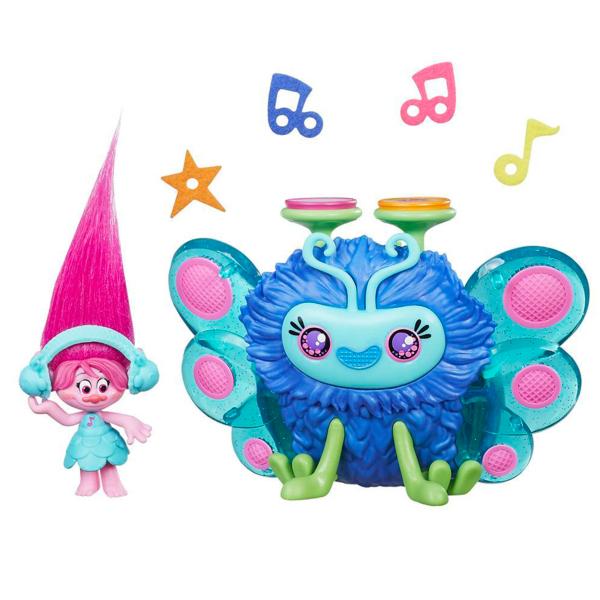 Купить Hasbro Trolls B9885 Тролли Набор Город троллей Диджей Баг, Игровой набор Hasbro Trolls