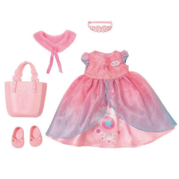 Zapf Creation Baby born 824-801 Бэби Борн Одежда для принцессы, арт:153060 - Одежда и аксессуары для кукол, Куклы и аксессуары