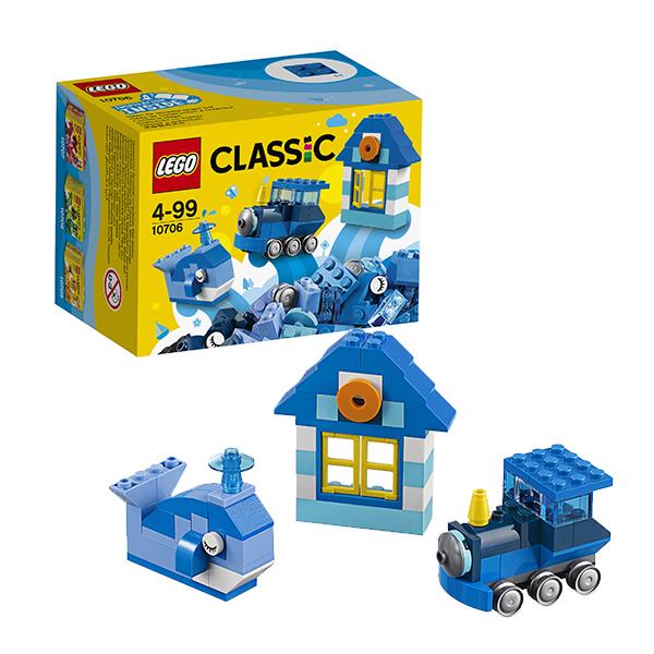 Купить Lego Classic 10706 Лего Классик Синий набор для творчества, Конструктор LEGO