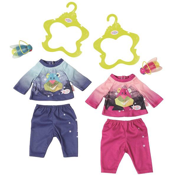 Купить Zapf Creation Baby born 824-818 Бэби Борн Удобный костюмчик и светлячок-ночник, Одежда для куклы Zapf Creation