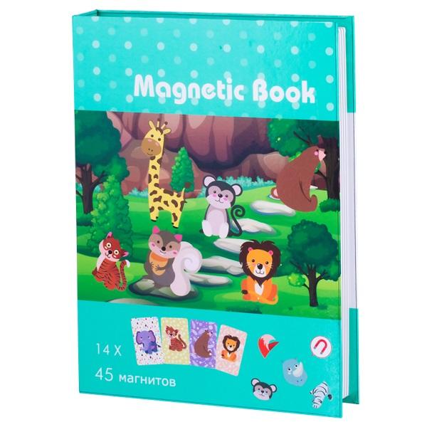 Купить Magnetic Book TAV034 Развивающая игра В зоопарке , Настольные игры Magnetic Book