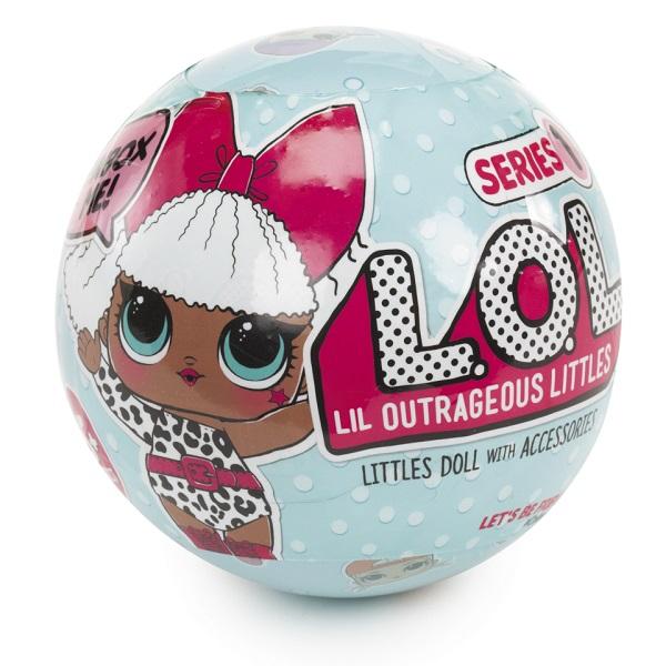 L.O.L. Surprise 548843 Кукла-сюрприз в шарике, арт:149849 - Мини наборы, Игровые наборы