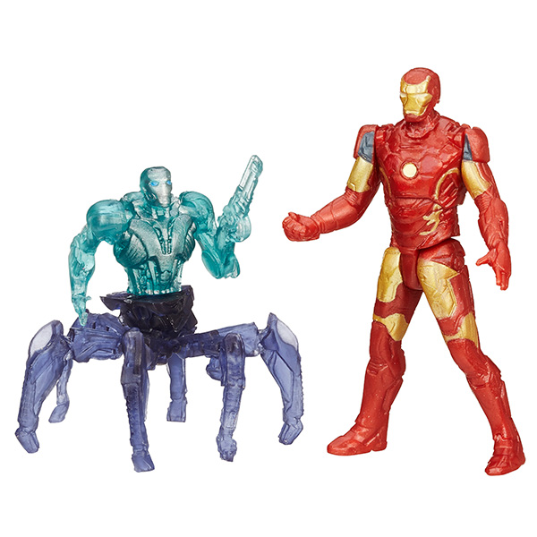 Купить Hasbro Avengers B0423 Набор из двух мини-фигурок Мстителей, 6 см (в ассортименте), Минифигурка Hasbro Avengers