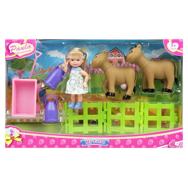 """Игровые наборы Paula MC23602a Игровой набор """"В деревне"""" с коровами фото"""