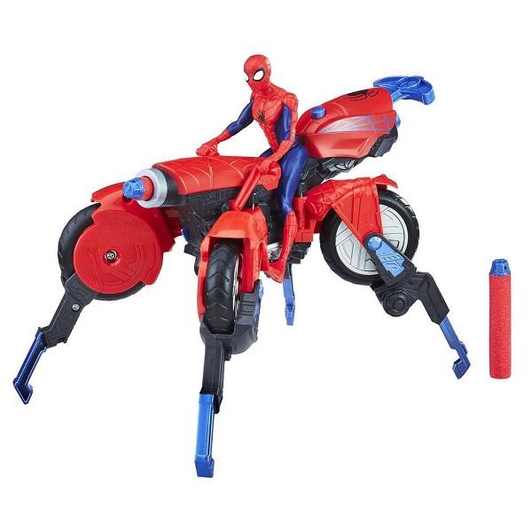 Hasbro Spider-Man E0593 Человек-Паук и транспорт, арт:155222 - Супергерои, Игровые наборы