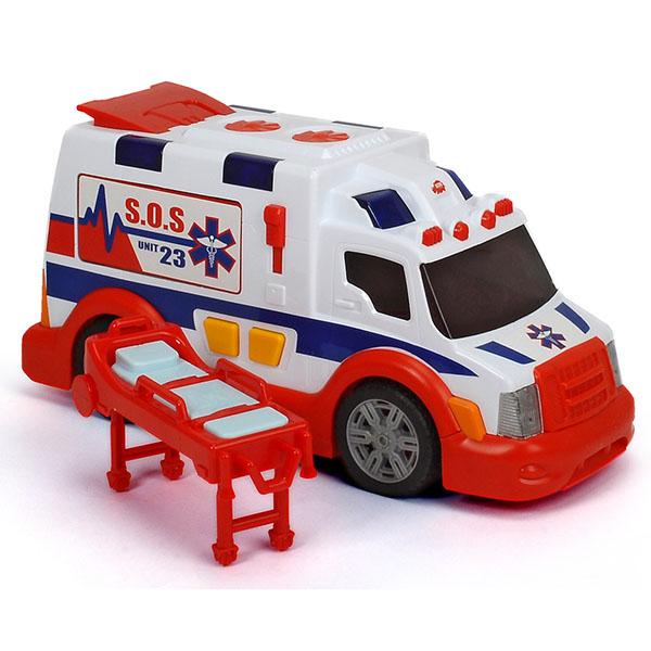 Игрушечные машинки и техника Simba 3308360 Машина скорой помощи (звук, свет, свободный ход) фото