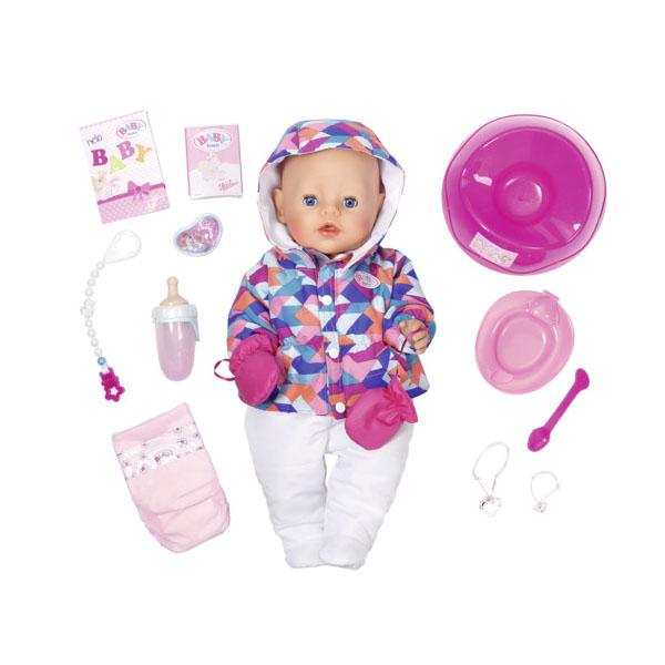 Купить Zapf Creation Baby born 825-273 Бэби Борн Кукла Интерактивная Зимняя пора, 43 см, Кукла Zapf Creation