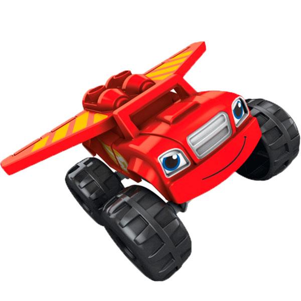 Mattel Mega Bloks DXF20 Мега Блокс Вспыш: герои мультфильма с аксессуарами - Любимые герои, артикул:151748
